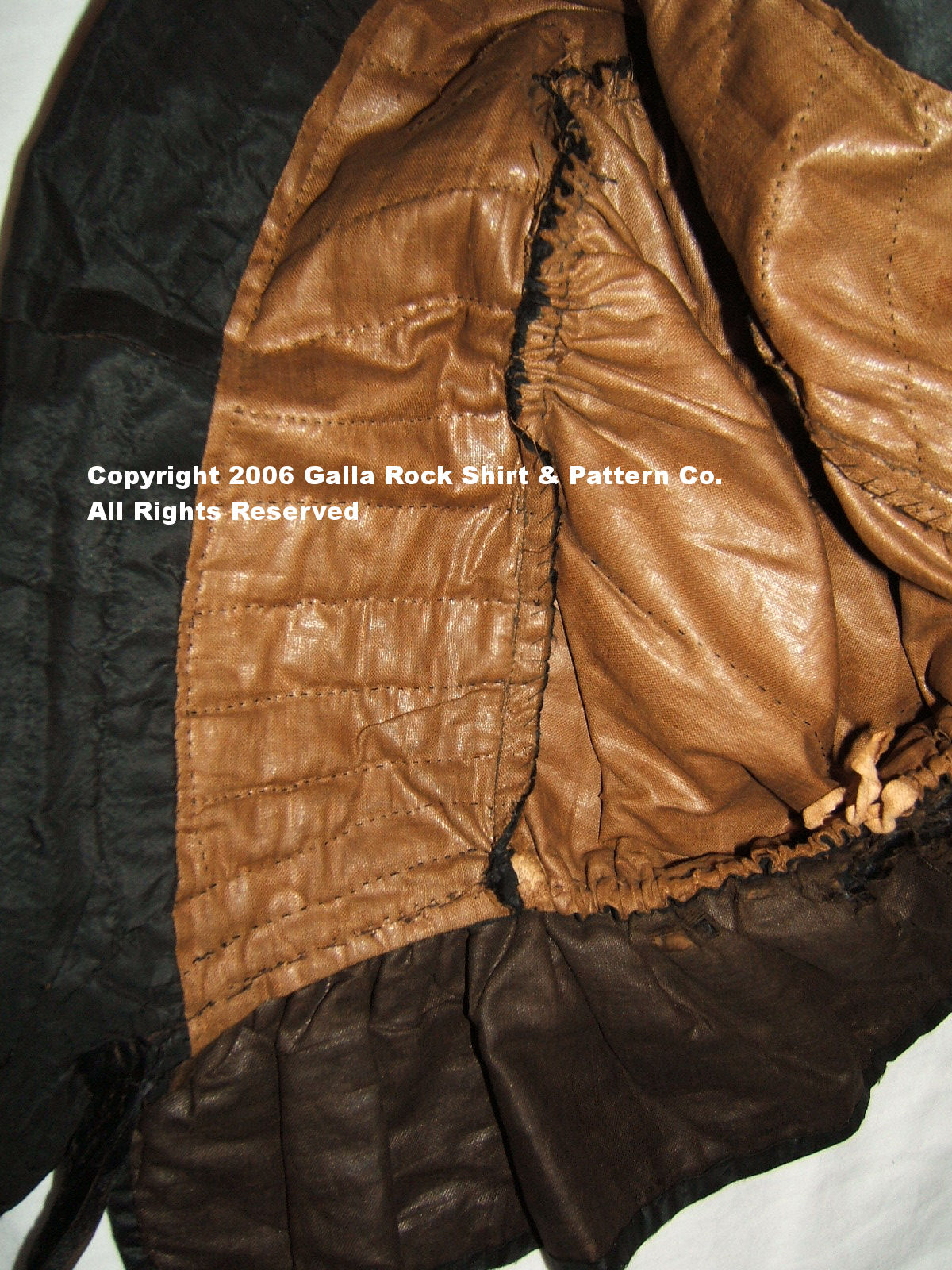 Galla Rock Civil War Shirt And Pattern Co